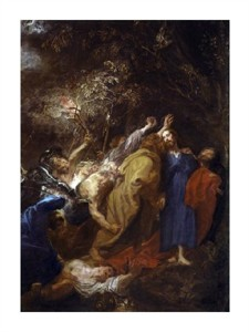 "Anthony Van Dyck Fine Art Open Edition Giclée:""Taking of Christ"""