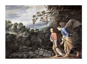 "Adam Elsheimer Fine Art Open Edition Giclée:""Tobias and the Angel"""