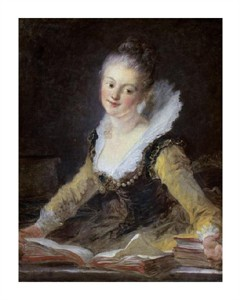 "Jean Honore Fragonard Fine Art Open Edition Giclée:""A Study"""