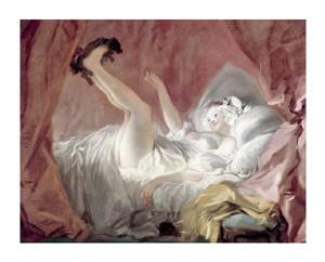 """Jean Honore Fragonard Fine Art Open Edition Giclée:""""La Giambette"""""""