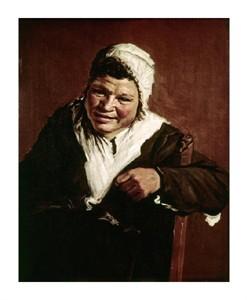"""Frans Hals Fine Art Open Edition Giclée:""""Hille Bobbe"""""""