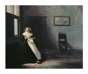 "Frans Hals Fine Art Open Edition Giclée:""Woman Tearing Up a Letter"""
