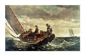 "Winslow Homer Fine Art Open Edition Giclée:""Breezing Up"""