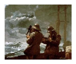 """Winslow Homer Fine Art Open Edition Giclée:""""Eight Bells"""""""