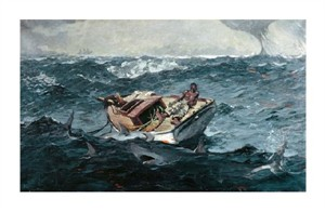 "Winslow Homer Fine Art Open Edition Giclée:""Gulf Stream"""