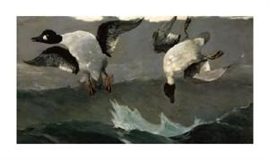 """Winslow Homer Fine Art Open Edition Giclée:""""Right & Left"""""""
