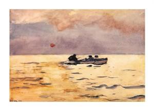 """Winslow Homer Fine Art Open Edition Giclée:""""Rowing Home"""""""