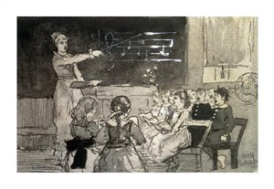 "Winslow Homer Fine Art Open Edition Giclée:""The Music Lesson"""