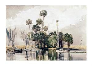 """Winslow Homer Fine Art Open Edition Giclée:""""Exotic Island"""""""