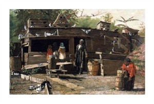 """Winslow Homer Fine Art Open Edition Giclée:""""Uncle Ned at Home"""""""