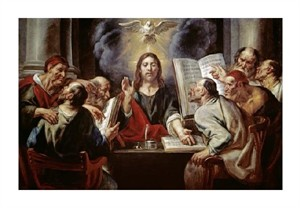 "Jacob Jordaens Fine Art Open Edition Giclée:""Christ Disputing with the Pharisees"""