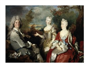 "Nicolas De Largilliere Fine Art Open Edition Giclée:""Family Portrait"""