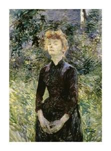 """Henri Toulouse-Lautrec Fine Art Open Edition Giclée:""""A Batignolles"""""""