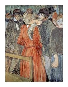 """Henri Toulouse-Lautrec Fine Art Open Edition Giclée:""""Au Moulin de la Galette"""""""