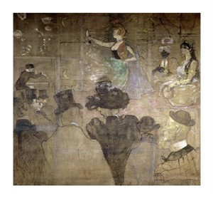 """Henri Toulouse-Lautrec Fine Art Open Edition Giclée:""""La Danse Mauresque ou les Almees"""""""