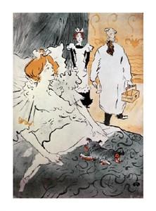 """Henri Toulouse-Lautrec Fine Art Open Edition Giclée:""""Qui, L'Artisan Moderne"""""""
