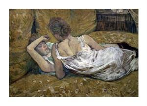 """Henri Toulouse-Lautrec Fine Art Open Edition Giclée:""""Two Friends"""""""