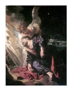 """Johann Liss Fine Art Open Edition Giclée:""""Christ in the Garden"""""""
