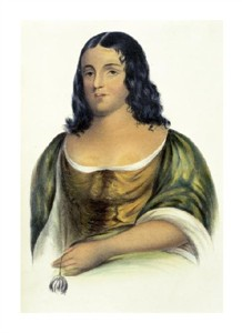 "Thomas Lorraine McKenney Fine Art Open Edition Giclée:""Pocahontas"""