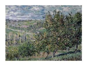 "Claude Monet Fine Art Open Edition Giclée:""Apple Trees in Bloom"""