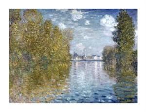 "Claude Monet Fine Art Open Edition Giclée:""Autumn in Argenteuil"""