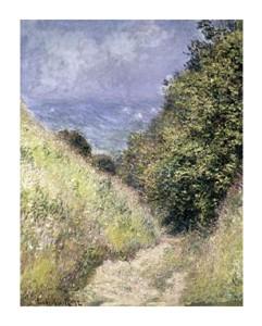 """Claude Monet Fine Art Open Edition Giclée:""""Chemin de La Cavee, Pourville"""""""