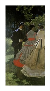 """Claude Monet Fine Art Open Edition Giclée:""""Dejeuner Sur L'Herbe"""""""