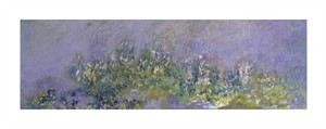 "Claude Monet Fine Art Open Edition Giclée:""Glycines"""