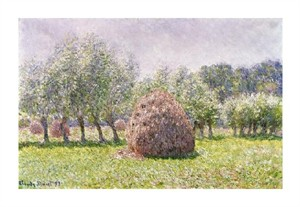 "Claude Monet Fine Art Open Edition Giclée:""Haystack"""