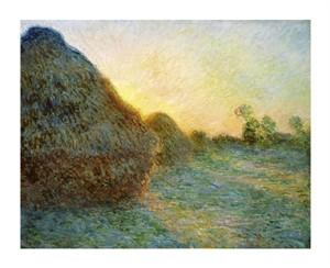 "Claude Monet Fine Art Open Edition Giclée:""Haystacks"""