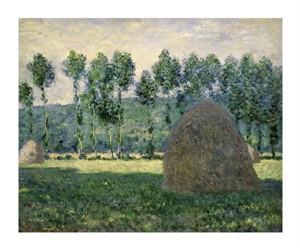 "Claude Monet Fine Art Open Edition Giclée:""Haystacks Near Giverny"""