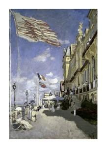 """Claude Monet Fine Art Open Edition Giclée:""""Hotel Des Roches Noires a Trouville"""""""