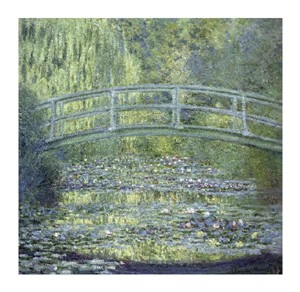 "Claude Monet Fine Art Open Edition Gicl�e:""Japanese Bridge"""
