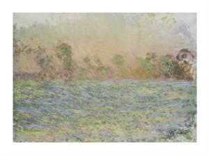 """Claude Monet Fine Art Open Edition Giclée:""""La Prairie de Limetz, Pres de Giverny"""""""