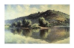 """Claude Monet Fine Art Open Edition Giclée:""""La Seine a Port-Villez"""""""