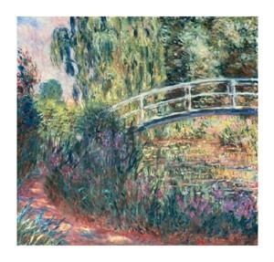 """Claude Monet Fine Art Open Edition Giclée:""""Le Pont Japonais Bassin Aux Nympheas"""""""
