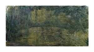 """Claude Monet Fine Art Open Edition Giclée:""""Le Pont Japonais II"""""""