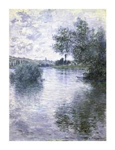 """Claude Monet Fine Art Open Edition Giclée:""""Le Seine a Vetheuil"""""""