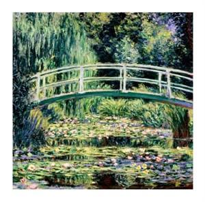 """Claude Monet Fine Art Open Edition Giclée:""""Les Nympheas Blancs"""""""
