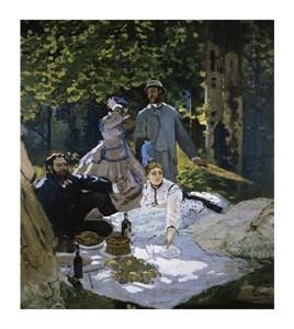"""Claude Monet Fine Art Open Edition Giclée:""""Luncheon on the Grass"""""""