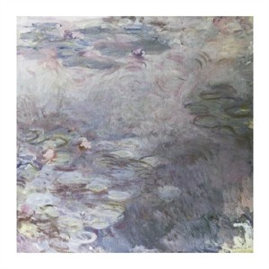 "Claude Monet Fine Art Open Edition Giclée:""Nymphaeas Clairs"""