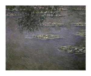 """Claude Monet Fine Art Open Edition Giclée:""""Nymphaeas Water Lilies"""""""