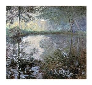 """Claude Monet Fine Art Open Edition Giclée:""""Pond of Montgeron"""""""