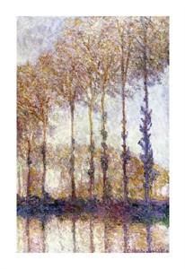 """Claude Monet Fine Art Open Edition Giclée:""""Poplars"""""""