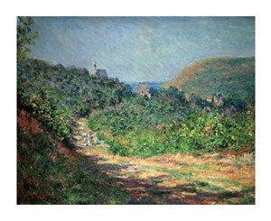 "Claude Monet Fine Art Open Edition Giclée:""Printemps a Giverny"""