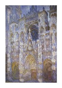 """Claude Monet Fine Art Open Edition Giclée:""""Rouen Cathedral: """"The Portal, Morning Sun"""""""