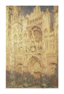 """Claude Monet Fine Art Open Edition Giclée:""""Rouen Cathedral in the Evening"""""""