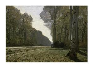 """Claude Monet Fine Art Open Edition Giclée:""""Route Du Bas-Breau"""""""