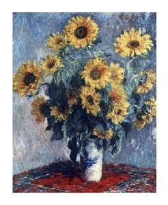 """Claude Monet Fine Art Open Edition Giclée:""""Sunflowers"""""""