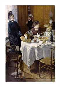 "Claude Monet Fine Art Open Edition Giclée:""The Luncheon"""